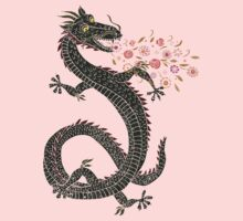 Dragon, Flower Breathing Kids Clothes
