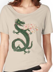 Dragon, Flower Breathing Women's Relaxed Fit T-Shirt