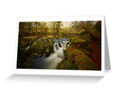 Autumn - River Dovey Greeting Card
