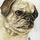 Pugalicious by Sherry Cummings