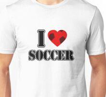 I Love Soccer - T-shirt Unisex T-Shirt