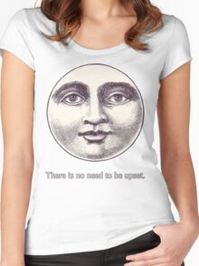 There is no need to be upset. Women's Fitted Scoop T-Shirt