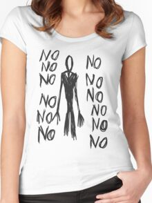 No, no, no - Slender Page nº 8 Women's Fitted Scoop T-Shirt