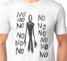 No, no, no - Slender Page nº 8 Unisex T-Shirt