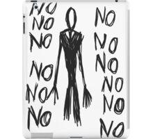 No, no, no - Slender Page nº 8 iPad Case/Skin