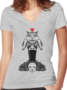 Alice Totem Women's Fitted V-Neck T-Shirt