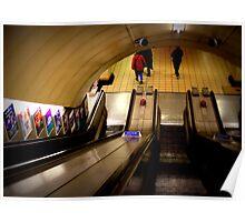 Gants Hill - The Escalators  Poster