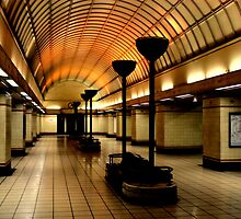Gants Hill Tube Station  by rsangsterkelly
