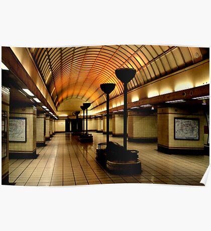 Gants Hill Tube Station  Poster