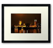Halls of Power Framed Print
