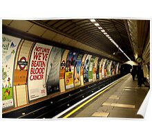 Gants Hill - the underground Poster