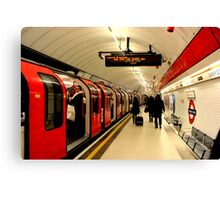 Liverpool Street - Central Line Canvas Print