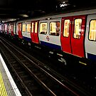 Waiting Patiently - Metropolitan Line by rsangsterkelly