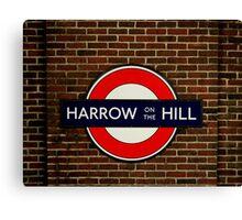 Harrow-On-The-Hill Canvas Print