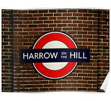 Harrow-On-The-Hill Poster