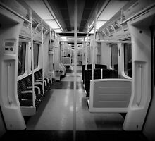 Metropolitan Line Train by rsangsterkelly