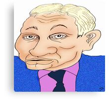 Michael Gove Cartoon Caricature Canvas Print