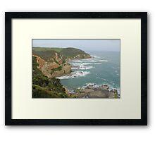 Great Ocean Road coast line Framed Print