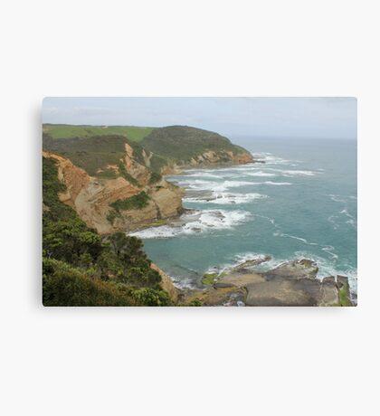 Great Ocean Road coast line Canvas Print