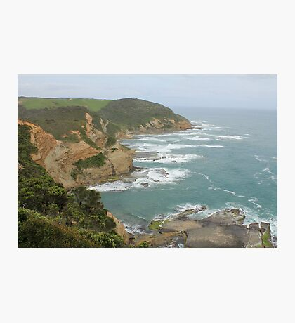 Great Ocean Road coast line Photographic Print