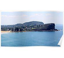 Avalon Beach, North Avalon Headland Poster