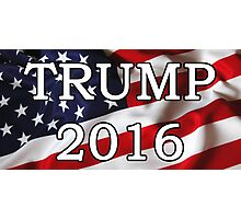 Donald Trump For President 2016 Stickers, Shirts, Skins, Cases, Mugs, Poster Photographic Print