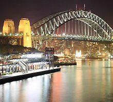Sydney Harbour Bridge and Passenger Terminal by Andrew  MCKENZIE