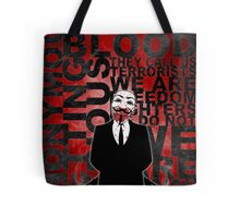 Anonymous revolution without blood ? Tote Bag