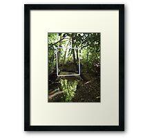 Protruding natures lines #3 Framed Print