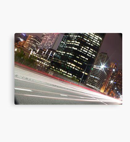 Street Lights of Sydney Canvas Print