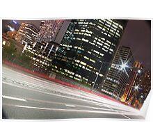 Street Lights of Sydney Poster
