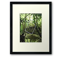 Protruding natures lines #11 Framed Print