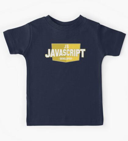 javascript developer Kids Tee