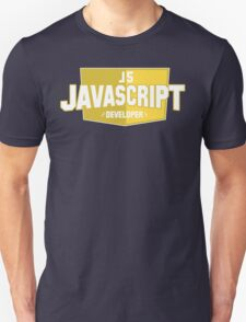 javascript developer T-Shirt