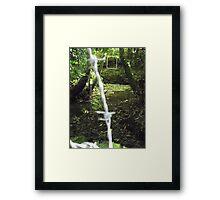 Protruding natures lines #16 Framed Print