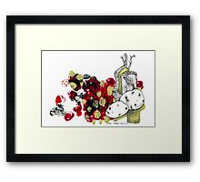 Potato Sprout Framed Print