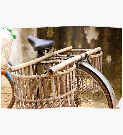 Bicycle Basket Poster