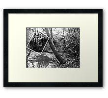 Protruding natures lines edit #2 Framed Print