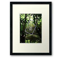 Protruding natures lines edit #7 Framed Print