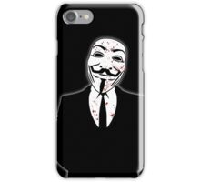 Anonymous revolution without blood ? big iPhone Case/Skin