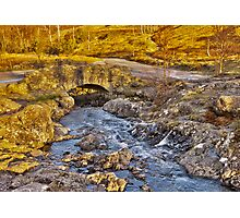 Ashness Bridge - Lake District Photographic Print