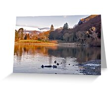 By The Lakeside - Derwentwater Greeting Card