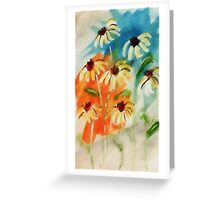 These will make you smile, watercolor Greeting Card