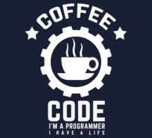 Programmer : Coffee and Code Kids Clothes