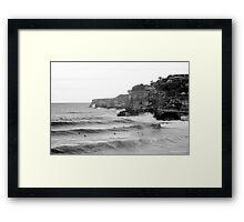 Bronte Beach Set Framed Print