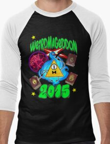 Weirdmageddon 2015 Men's Baseball ¾ T-Shirt