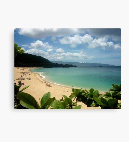 Waimea Bay North Shore Oahu Canvas Print