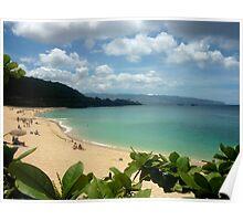 Waimea Bay North Shore Oahu Poster