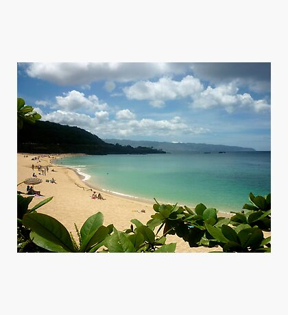 Waimea Bay North Shore Oahu Photographic Print