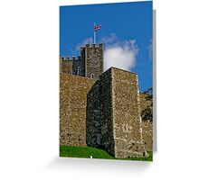 Dover Castle Greeting Card